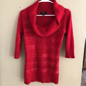 BCX red sweater S